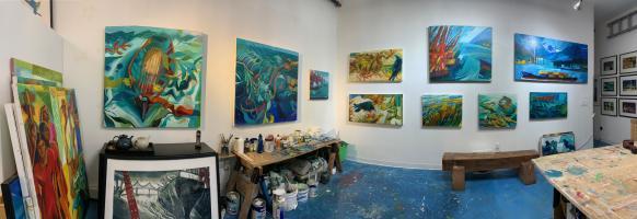 Tetrault, paintings 2020